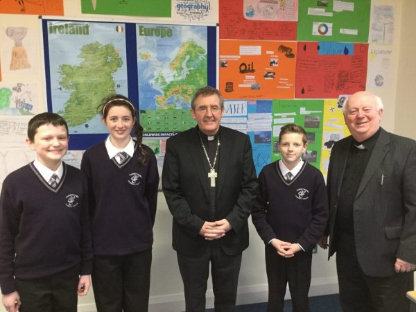 Advent Mass in Carrigtwohill Community College