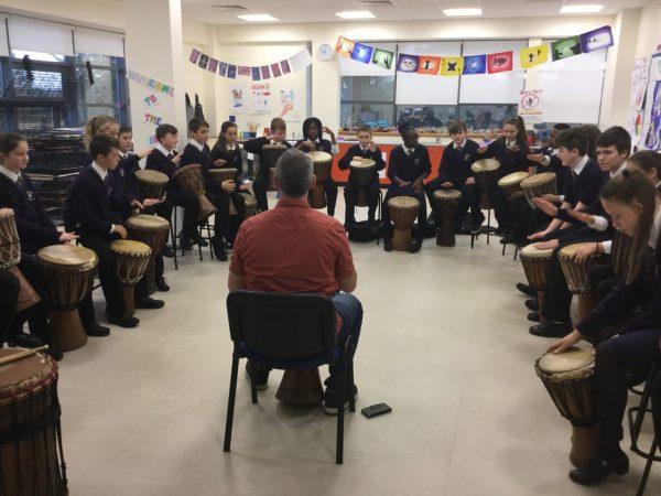 1st Year African Drumming Workshop