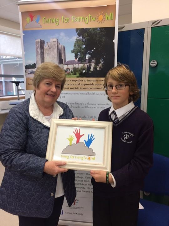 Caring for Carrigtwohill 'design our logo' winner